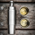 Firelight 750 Flask (Classic Stainless)