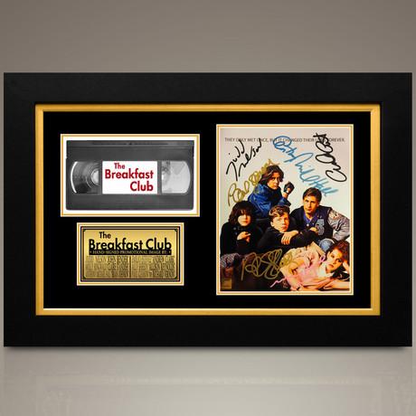 Breakfast Club // Emilio Estevez + Anthony Michael Hall + Nelson + Ringwald + Sheedy + Paul Gleason Hand-Signed // Custom Frame (Signed Photo Only + Custom Frame)