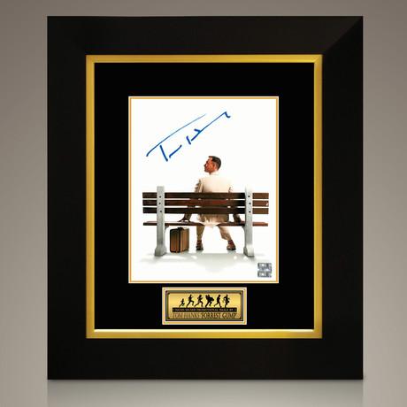 Forrest Gump // Tom Hanks Hand-Signed // Custom Frame (Signed Photo Only + Custom Frame)