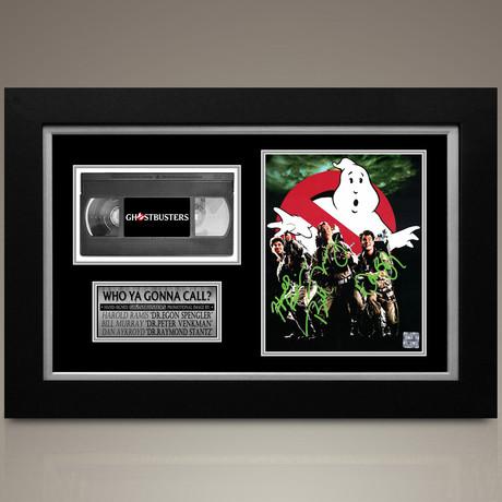 Ghostbusters // Dan Aykroyd + Bill Murray + Harold Ramis Hand-Signed // Custom Frame (Signed Photo Only + Custom Frame)