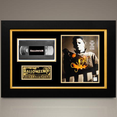 Halloween // John Carpenter Hand-Signed // Custom Frame (Signed Photo Only + Custom Frame)