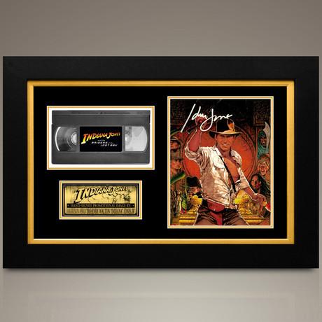 Indiana Jones // Harrison Ford Hand-Signed // Custom Frame (Signed Photo Only + Custom Frame)