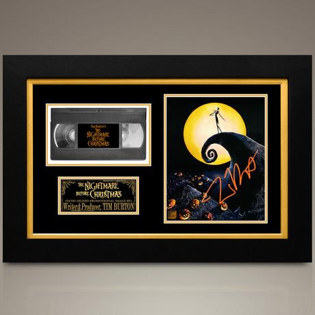 Nightmare Before Christmas // Tim Burton Hand-Signed // Custom Frame (Signed Photo Only + Custom Frame)