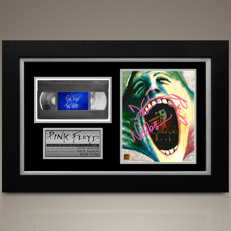 Pink Floyd The Wall // Roger Waters + David Gilmour + Nick Mason Hand-Signed // Custom Frame (Signed Photo Only + Custom Frame)