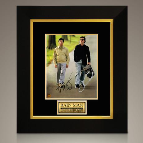 Rain Man // Dustin Hoffman + Tom Cruise Hand-Signed // Custom Frame (Signed Photo Only + Custom Frame)