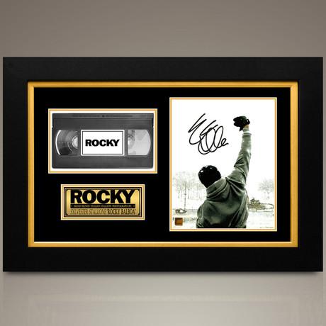 Rocky // Sylvester Stallone Hand-Signed // Custom Frame (Signed Photo Only + Custom Frame)