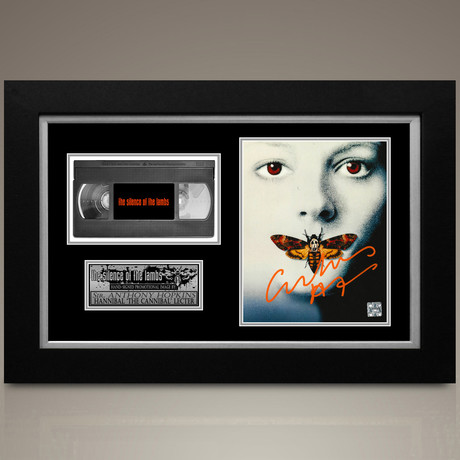 Silence Of The Lambs // Sir Anthony Hopkins Hand-Signed // Custom Frame (Signed Photo Only + Custom Frame)