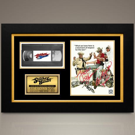 Smokey And The Bandit // Burt Reynolds + Jackie Gleason Hand-Signed // Custom Frame (Signed Photo Only + Custom Frame)