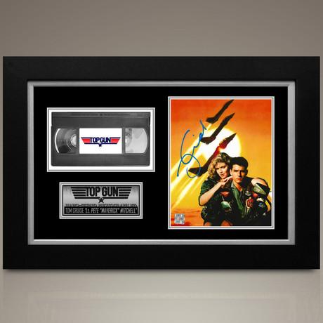 Top Gun // Tom Cruise Hand-Signed // Custom Frame (Signed Photo Only + Custom Frame)
