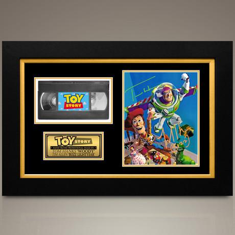 Toy Story // Tim Allen + Tom Hanks Hand-Signed // Custom Frame (Signed Photo Only + Custom Frame)