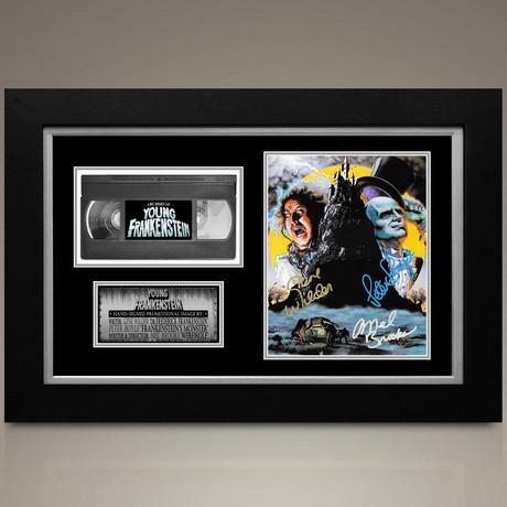 Young Frankenstein // Gene Wilder + Peter Boyle + Mel Brooks Hand-Signed // Custom Frame (Signed Photo Only + Custom Frame)