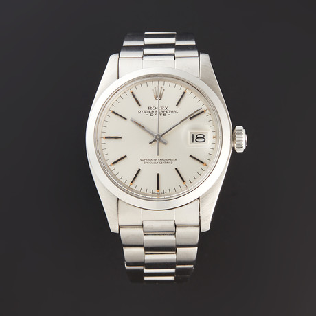 Rolex Date Automatic // 1500 // 5 Million Serial // Pre-Owned