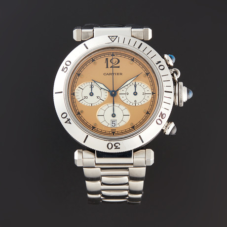 Cartier Pasha Chronograph Quartz // Pre-Owned