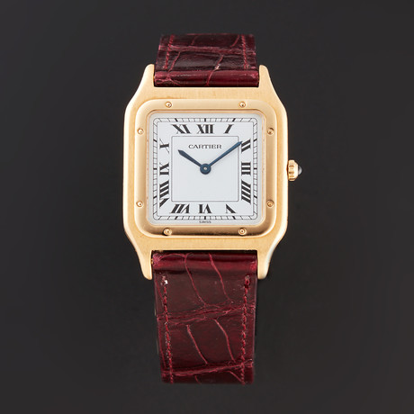 Cartier Santos Mecanique Quartz // Pre-Owned