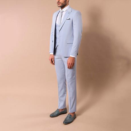 Rodrick 3-Piece Slim-Fit Suit // Light Blue (US: 34R)