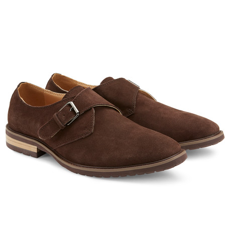 The Stanton Monk Strap // Brown (US: 7.5)