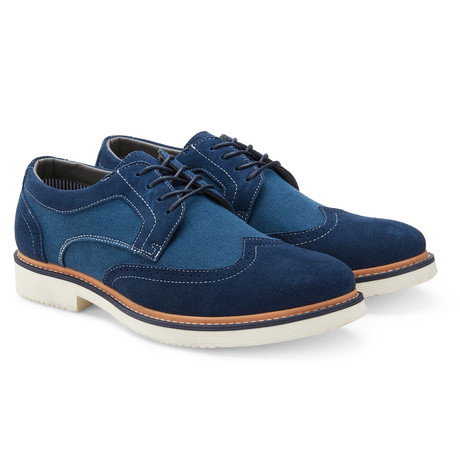 The Chester Wingtip Toe / Navy (US: 7.5)