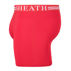 Sheath 4.0 Dual Pouch Boxer Brief // Red (Small)