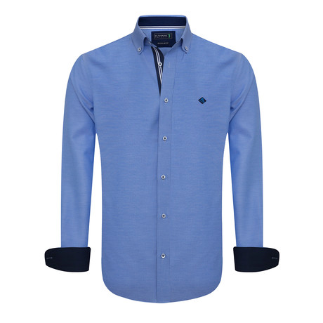 Swish Shirt // Blue (XS)