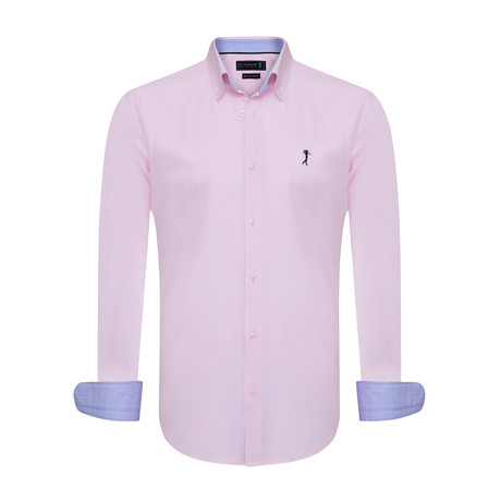 Handed Shirt // Pink (XS)