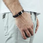 "Subtilitas Leather Bracelet (7"")"