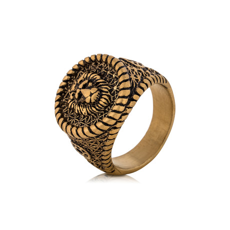 Imperator Ring // Gold (Size 6)
