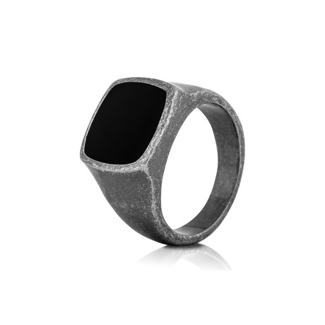 Opus Ring // Antique Silver (6)