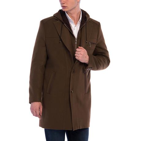 Venice Overcoat // Camel (Small)
