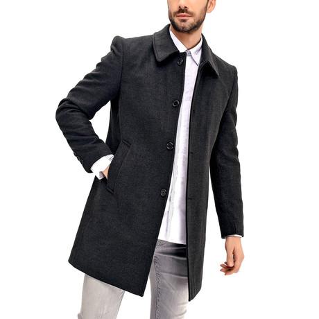 Barcelona Overcoat // Anthracite (Small)