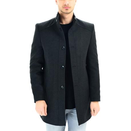 PLT8370 Overcoat // Anthracite (S)