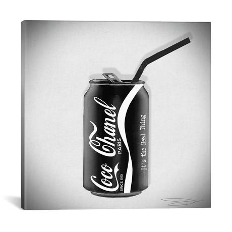 "Coco Cola Classic // Studio One // Jodi Pedri (18""W x 18""H x 0.75""D)"