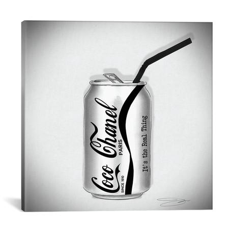 "Coco Cola // Studio One // Jodi Pedri (18""W x 18""H x 0.75""D)"
