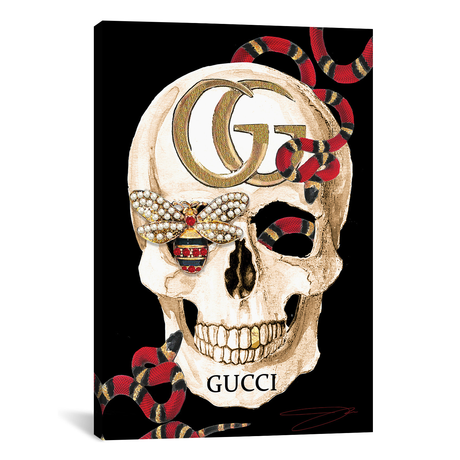 26b1aaa45f1e GucciGhost Skull Ring In Silver Gucci Skull: The Dark Art Collection