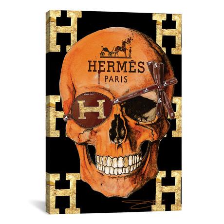 """Hermes Skull // Studio One (12""""W x 18""""H x 0.75""""D)"""
