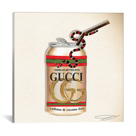 """Things Go Better With Gucci // Studio One (18""""W x 18""""H x 0.75""""D)"""