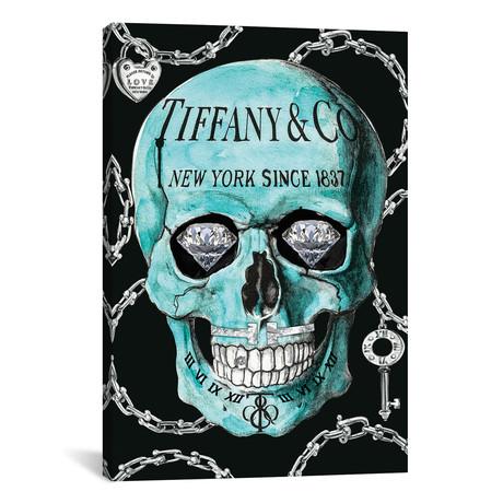 """Tiffany Skull // Studio One // Jodi Pedri (18""""W x 26""""H x 0.75""""D)"""