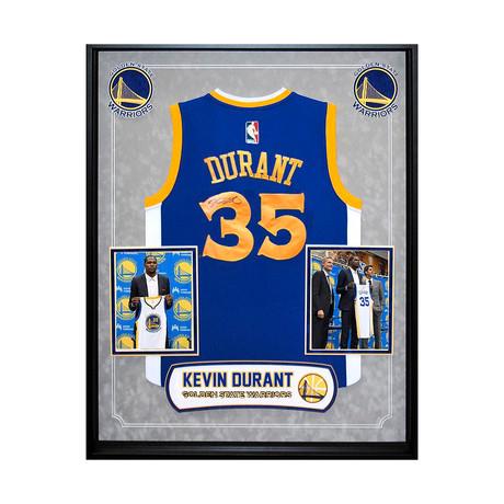 Signed + Framed Jersey // Kevin Durant