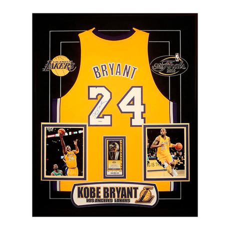 Signed + Framed Jersey // Kobe Bryant