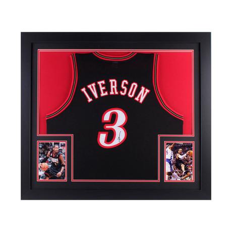 Signed + Framed Jersey // Allen Iverson