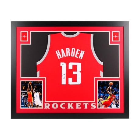 Signed + Framed Jersey // James Harden