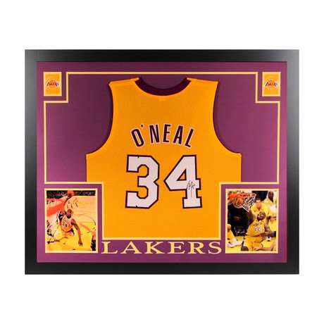 Signed + Framed Jersey // Shaquille O'Neal
