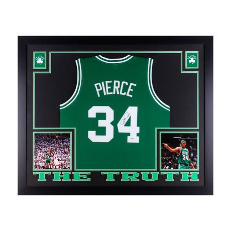 Signed + Framed Jersey // Paul Pierce
