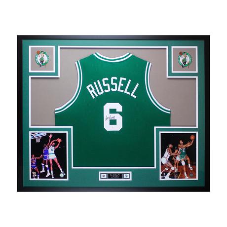 Signed + Framed Jersey // Bill Russell