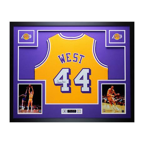 Signed + Framed Jersey // Jerry West