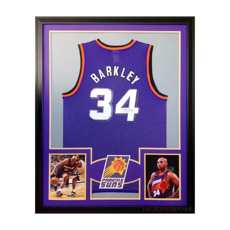 Signed + Framed Jersey // Charles Barkley