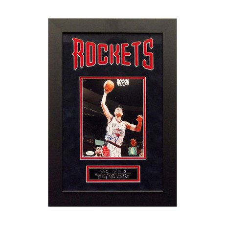 Signed + Framed Artist Series // Yao Ming