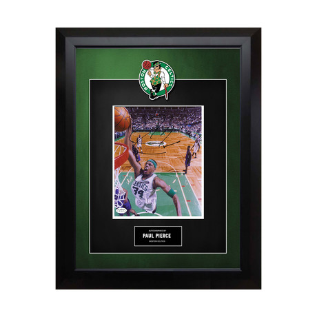 Signed + Framed Artist Series // Paul Pierce