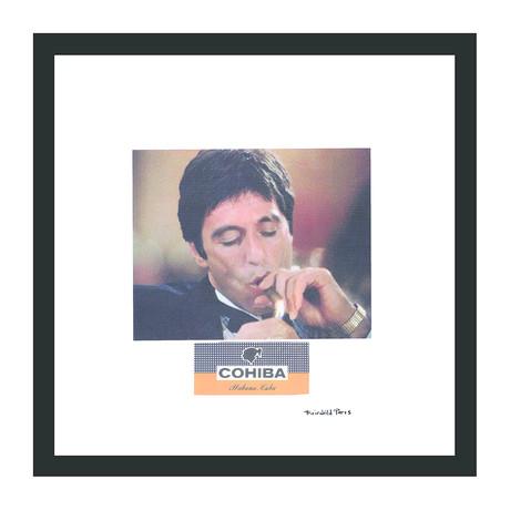 """Cohiba Cigar Print // Montana (12""""W x 12""""H x 2""""D)"""
