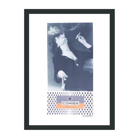 "Cohiba Cigar Print // Julliete (12""W x 16""H x 2""D)"