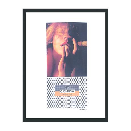 """Cohiba Cigar Print // Sensual (12""""W x 16""""H x 2""""D)"""